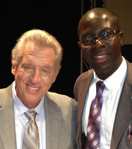 Yaw Perbi With John Maxwell, Sept 2012, Atlanta