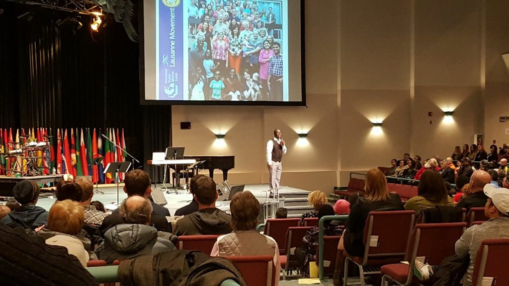 "Speaking on ""Designed for a Purpose"" in Edmonton, Alberta"