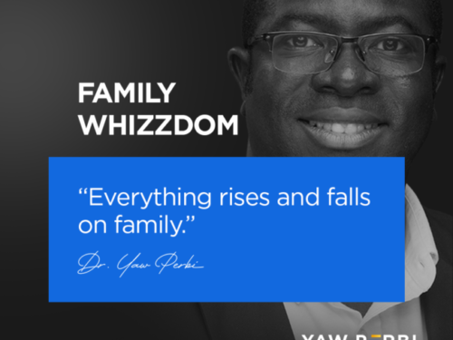 Everything Rises and Falls on Family.